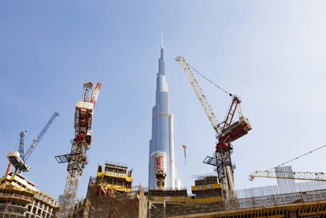 Cranes of Dubai