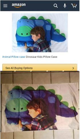 Pillow Case Shopping Fail