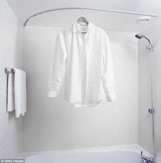 shirt ironing life hack