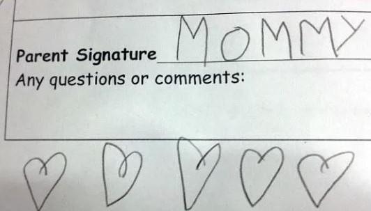 mom fail for test