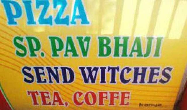 india menu fails