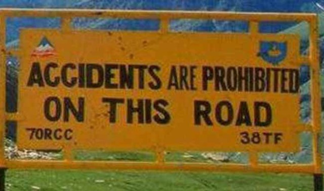 Funny image of roads