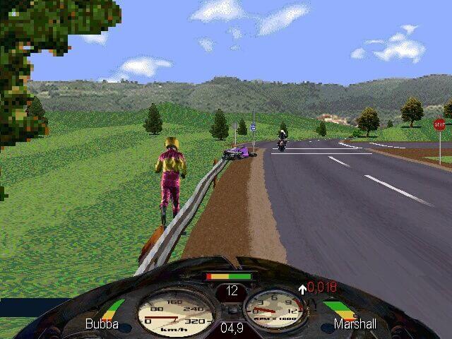 Road rash video gameplay