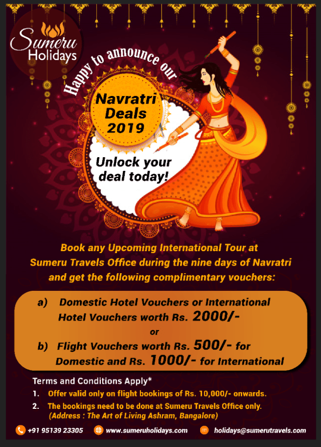 Navratri Garbha Deals