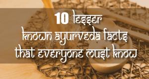 ayurvedic facts