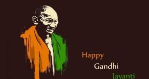 Gandhi Jayantti Banner