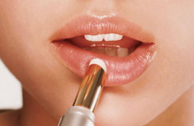 Applying Lip Balm
