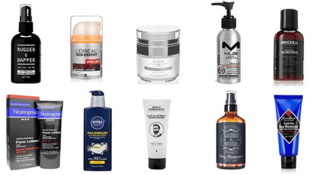 Moisturizers for males