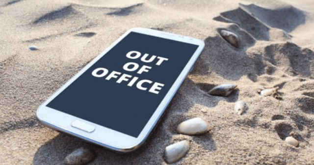 unplug from office