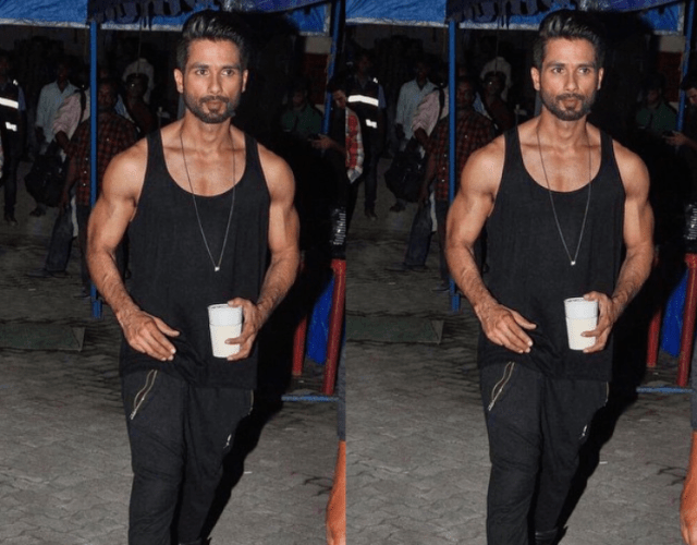 Shahid Kapoor and his caffeine