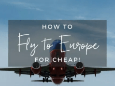 Cheap Flight Tickets To Europe