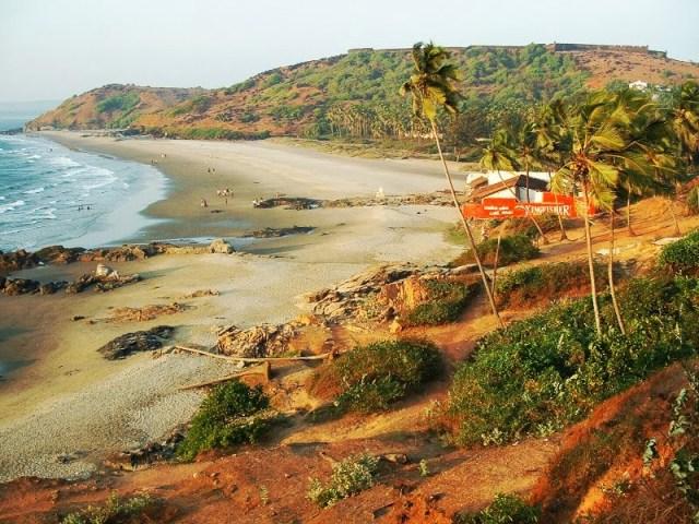 Chapora goa Beach
