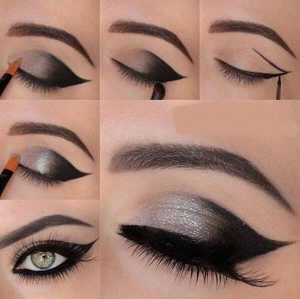 THE OUTER V eyeliner style