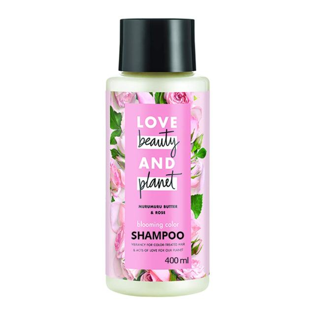 Love Beauty & Planet Blooming Colour Conditioner with Murumuru Butter and Rose Aroma, 400 ml - conditioner