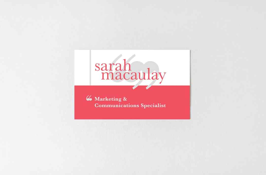 Sarah Macaulay branding