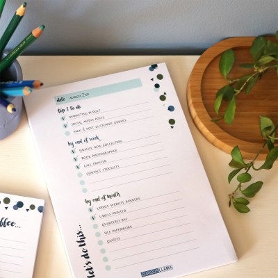 Kinfolk 'Lets Do This' A5 Task Planner