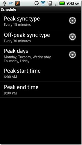 9 - peak off peak options