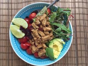 Fresh Tofu Lime Bowl