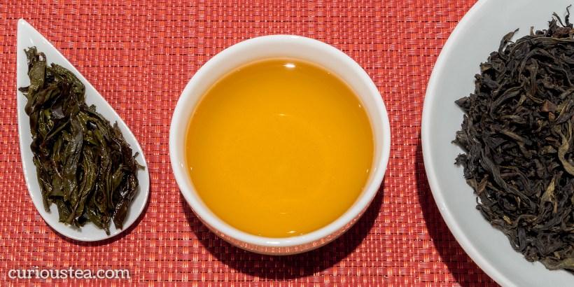 China Fujian Wu Yi Shan Wu Yi Rock Rou Gui Cassia Oolong Tea