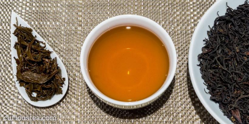 China Yunnan Province Wild Purple Leaf Dian Hong Dehong Ye Sheng Black Tea