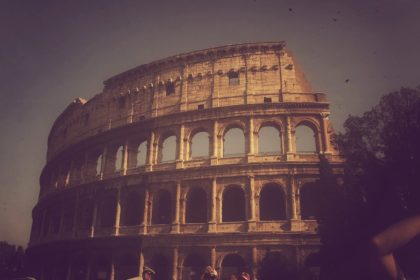 My favorite photos from Italy - colosseum, Rome