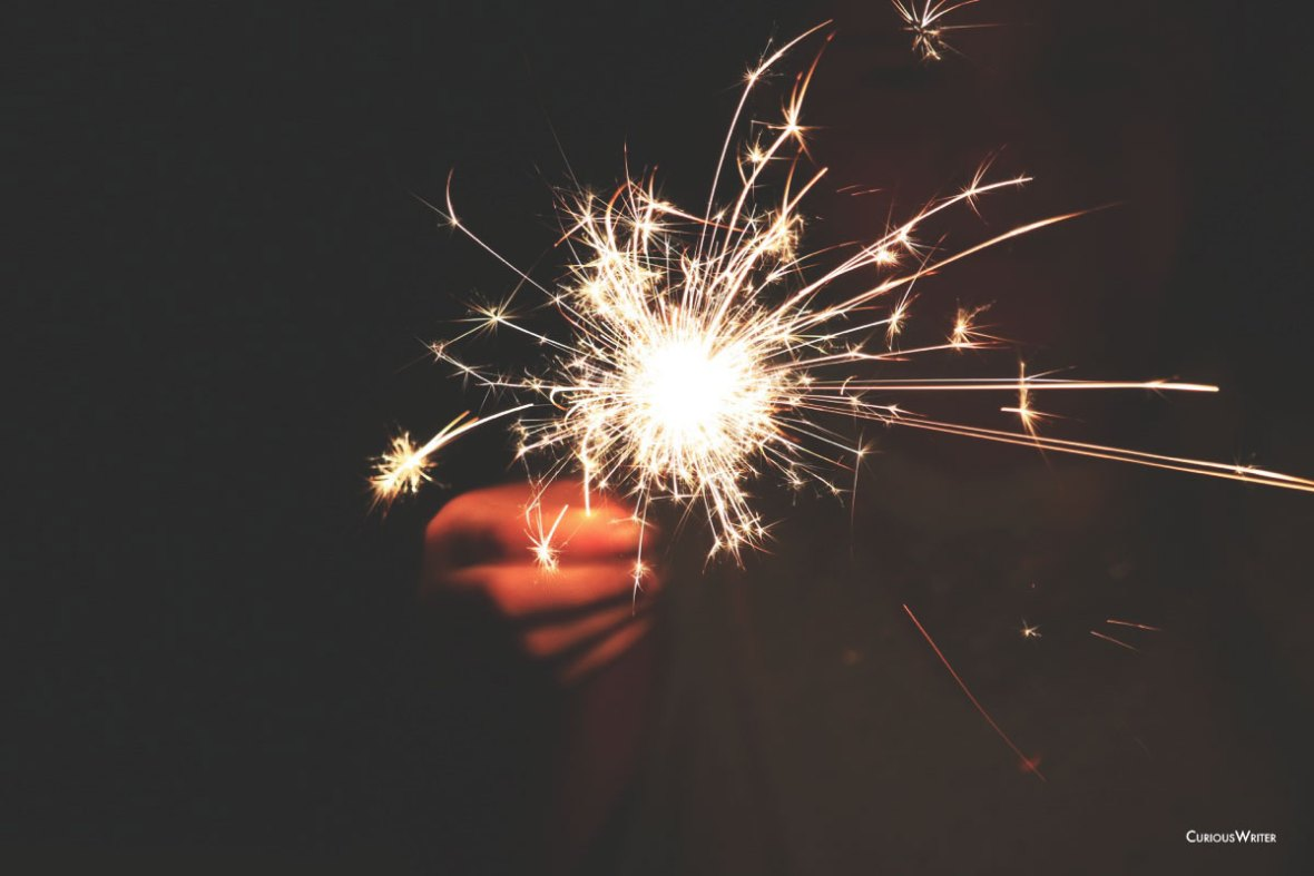 Fourth of july sparkler photo 2