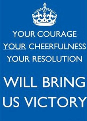 Your Courage, Your Cheerfulness, Your Resolution Will Bring Us Victory