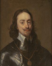 La muerte de Carlos I de Inglaterra