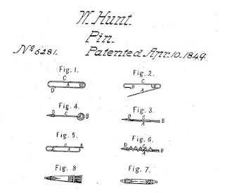 Patente del imperdible