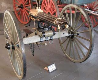 La ametralladora Gatling, pensada para salvar vidas