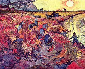 El viñedo rojo de Vicent van Gogh