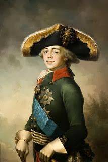 Las extravagancias del zar Pablo I de Rusia