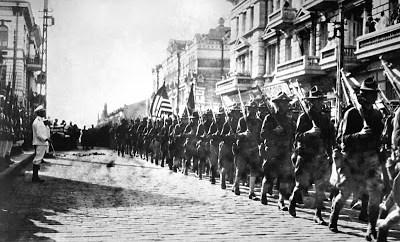Tropas de EEUU en Vladivostok en 1918