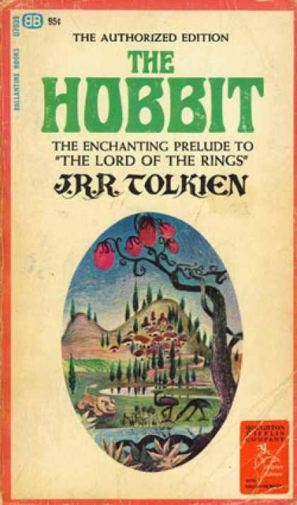 Portada de El Hobbit en EEUU en 1965