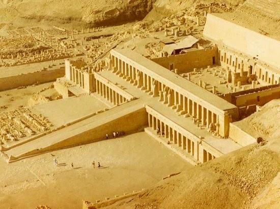 Templo de Hatshetsup en Deir el-Bahari