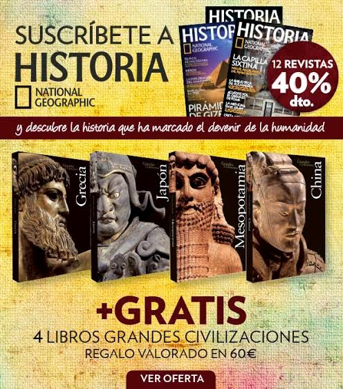 Oferta Historia National Geographic
