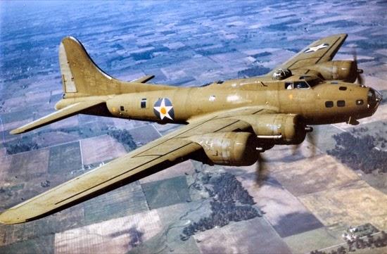 El catastrófico debut del B-17, la Fortaleza Volante