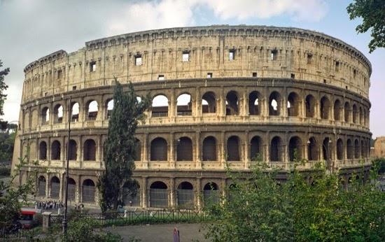 Las plantas del Coliseo romano