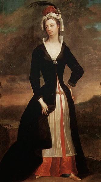 Mary Wortley Montagu, por Charles Jervas