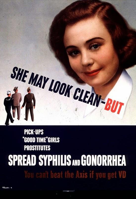 Propaganda del ejército de EEUU contra las enfermedades venéreas