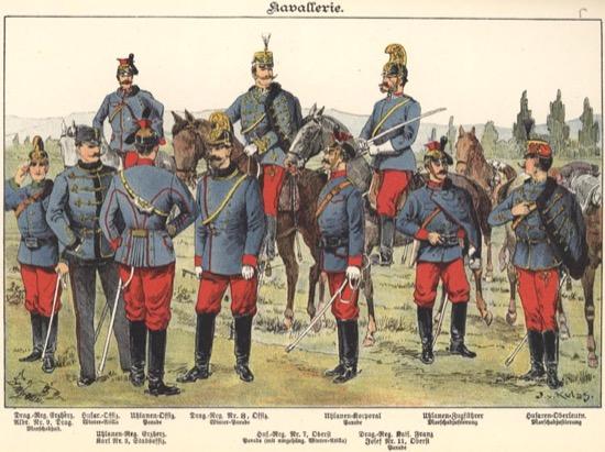 Caballería austro-húngara