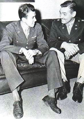 Actores famosos que pasaron por la Segunda Guerra Mundial