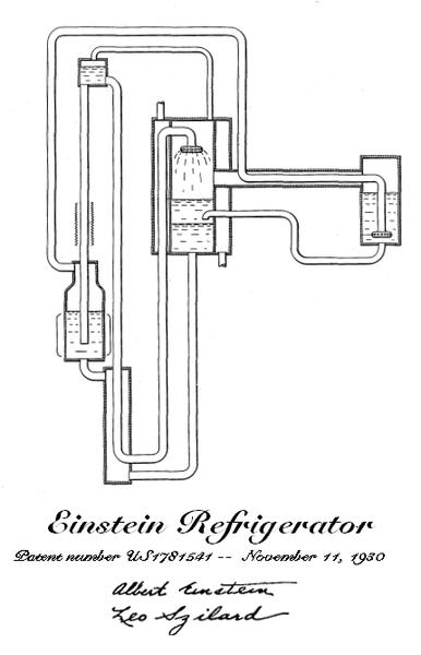 El frigorífico que inventó Einstein