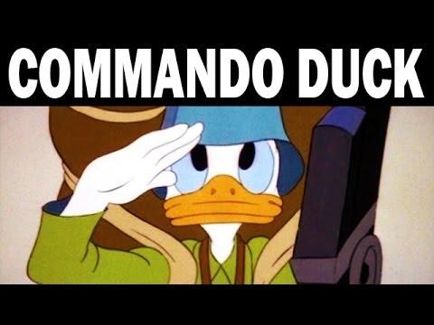 Commando Duck