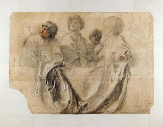 Carton de Charles Le Brun para Versalles