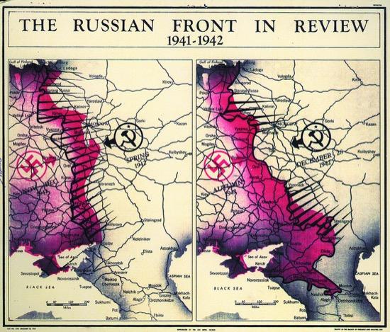 El frente ruso en 1942