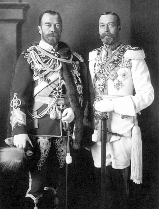 Tres emperadores, tres primos, y la Primera Guerra Mundial