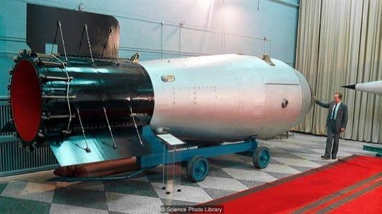 Reproducción de la Bomba del Zar