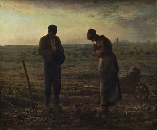 El Ángelus, de Jean-François Millet.