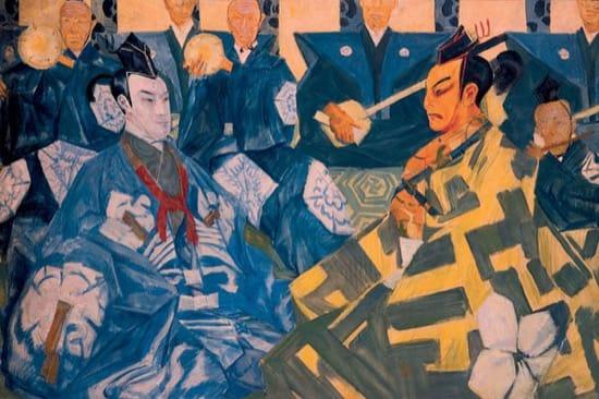 Actores de kabuki, por Yakovlev Shalyapin